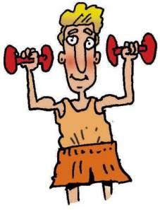 Workout-Cartoon